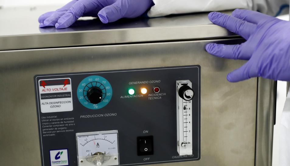 Imatge d'arxiu d'una màquina d'ozó.