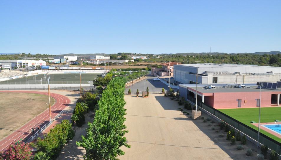 La Zona Esportiva de Torredembarra roman tancada al públic aquests dies.