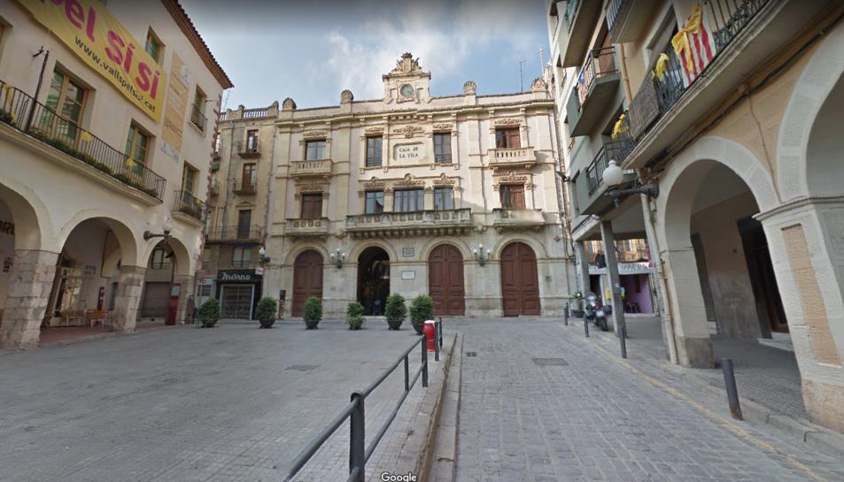 L'Ajuntament de Valls.
