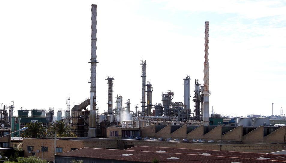Pla general de la planta d'IQOXE a la Canonja.
