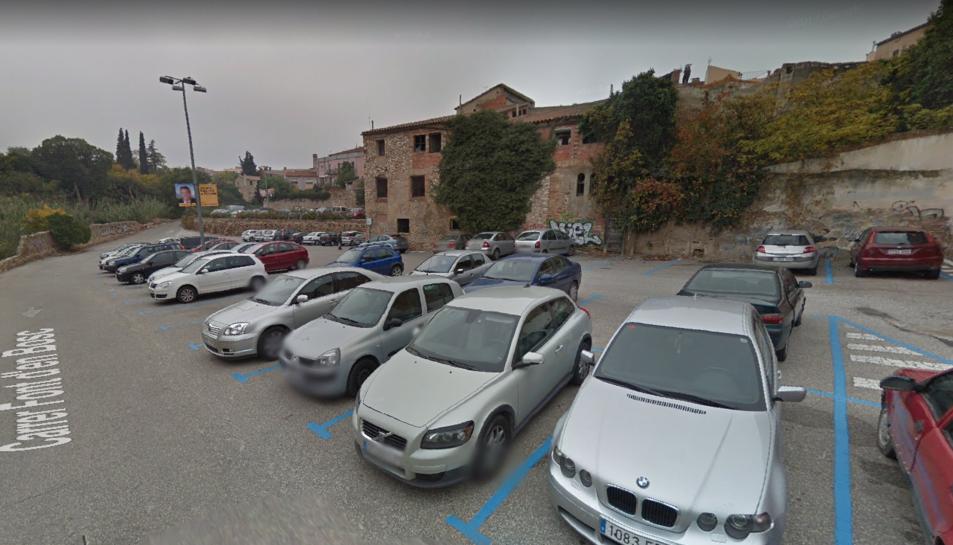 L'aparcament del barri Antic és una de les zones que tornaran a ser de pagament.