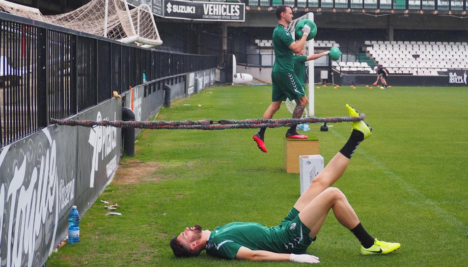 El CD Castellón disputarà el 'play-off' i els seus jugadors han començat a entrenar per preparar-se