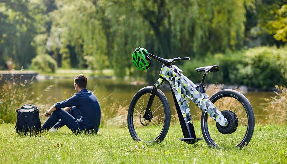 Una bicicleta elèctrica