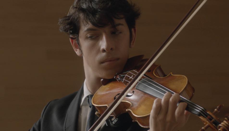 Fotograma del curt 'Preludi', protagonitzat per Pablo Capuz.