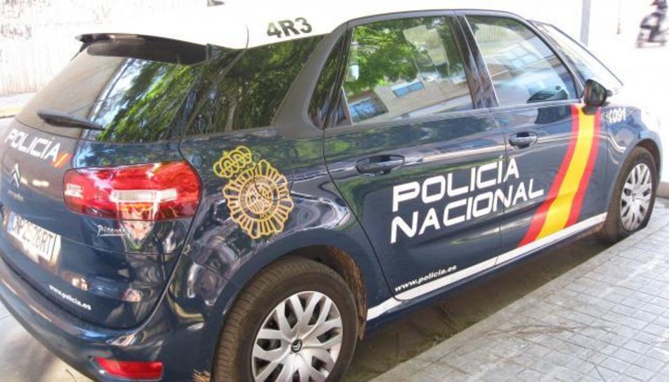 Imatge d'arxiu d'un vehicle del CNP