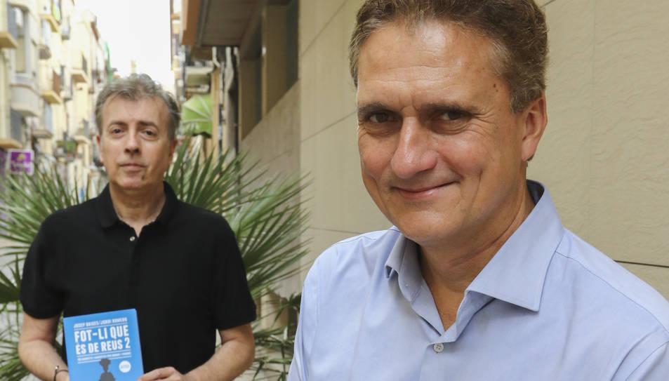 Jordi Romero i Josep Baiges aquest dilluns a Reus.