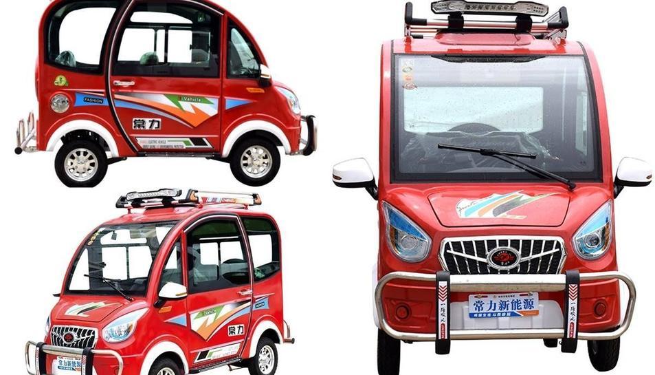 El Chang Li és segurament el cotxe elèctric més econòmic del mercat.