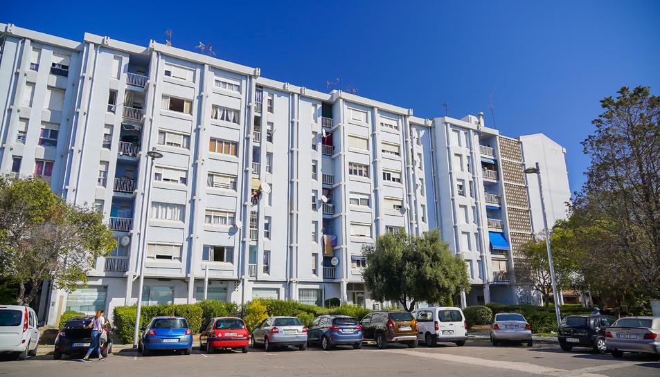 Campclar (Tarragona), a la zona del carrer Riu Llobregat, és on hi ha una renda mitjana més baixa.