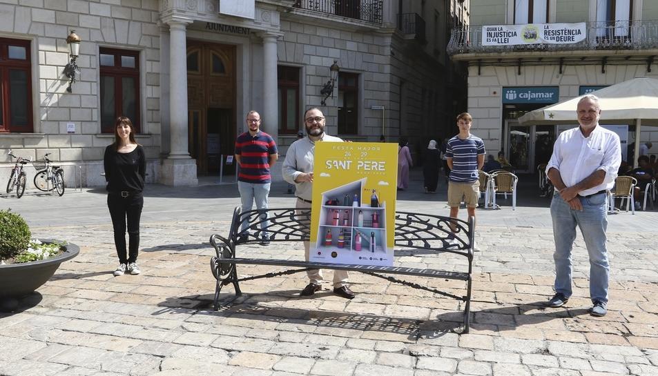 Imatge de la presentació del cartell.