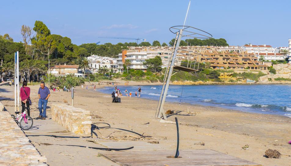 Les platges d'Altafulla no tindran tots els serveis disponibles.
