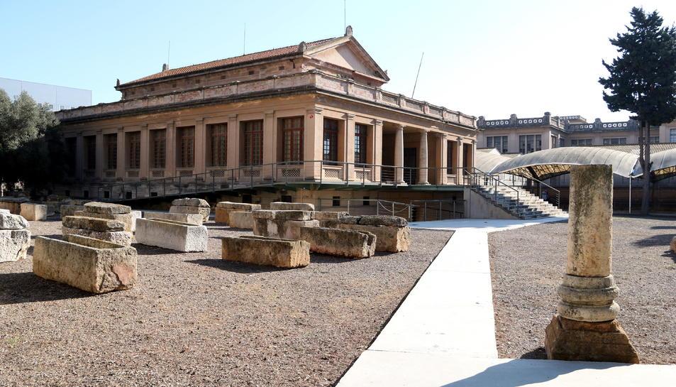 El conjunt monumental del Museu i Necròpolis Paleocristians de Tarragona.