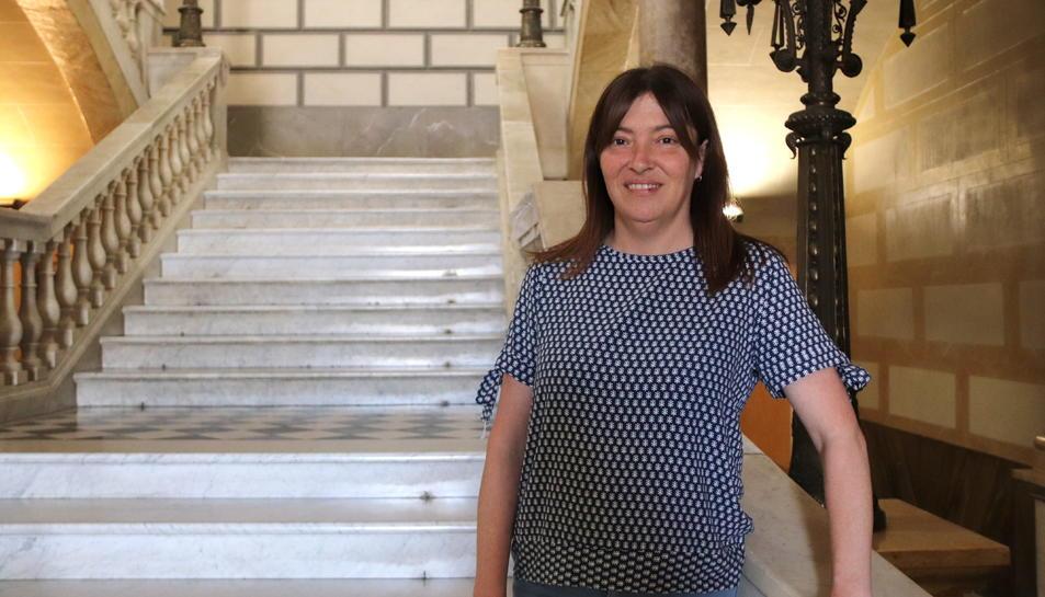 La directora castellera del Concurs de Castells, Ester Roca.