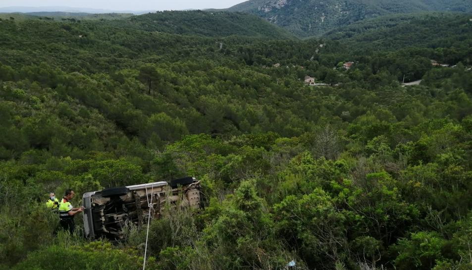 Imatge facilitada pel Servei Català de Trànsit del vehicle.
