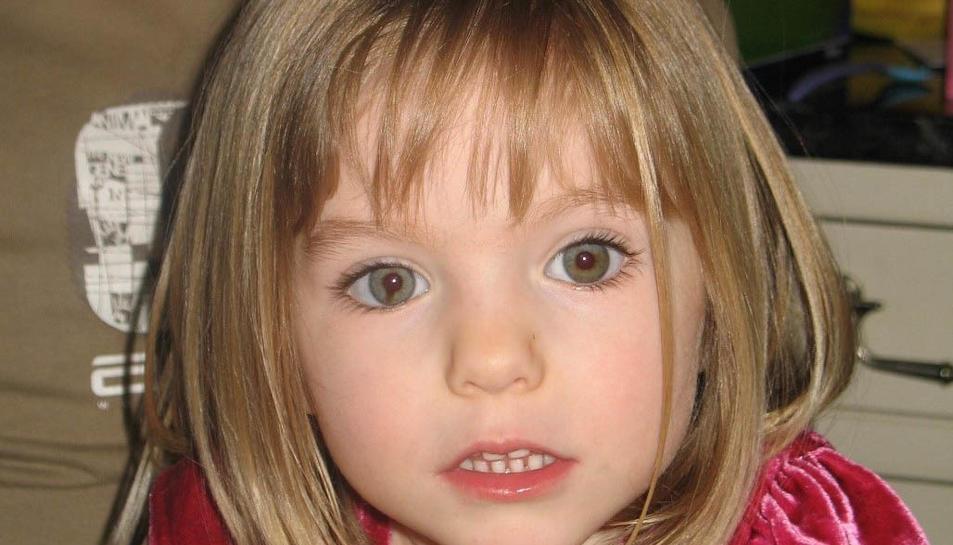 La petita Madeleine en una imatge de l'època en què va desaparéixer.
