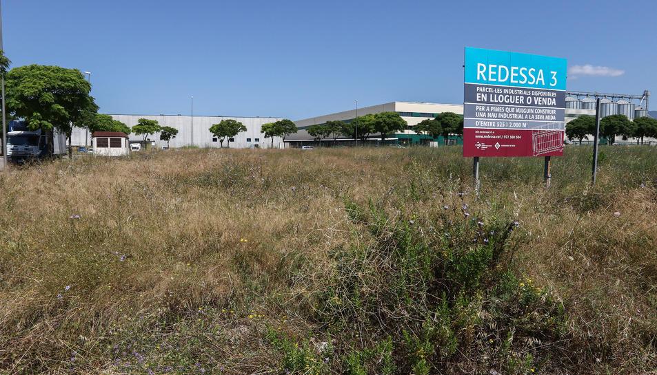 Un dels terrenys que l'empresa municipal ha decidit subhastar.