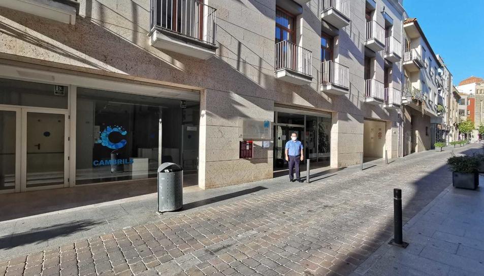 Façana del Centre Cultural Municipal de Cambrils.