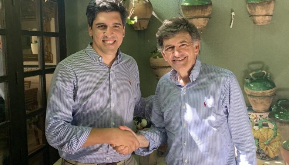 Alejo de Alfonso i Josep Maria Andreu.