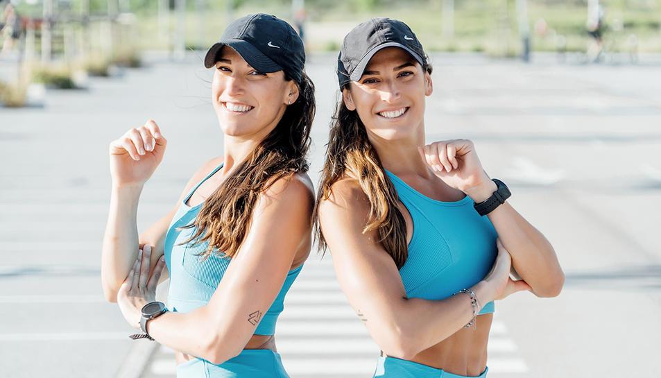 Esther i Gemma Pineda, més conegudes com 'Les Bessones Pin'