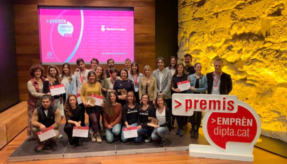 La Diputació de Tarragona ha atorgat a la Titaranya el primer premi de la categoria social dels Premis Emprèn 2019.