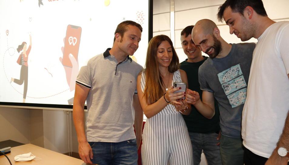 Un grup de joves de Valls ha creat aquesta app.