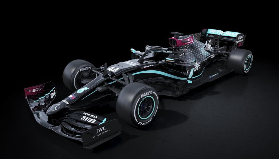 Aspecte que lluiran els vehicles de Fórmula 1 de Mercedes aquesta temporada.