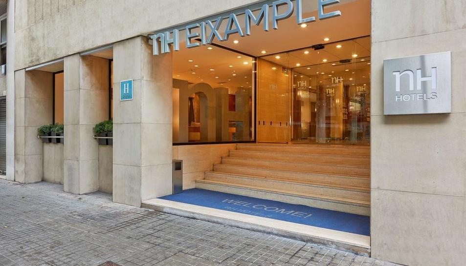Imatge d'un dels hotels que la marca té a Barcelona.