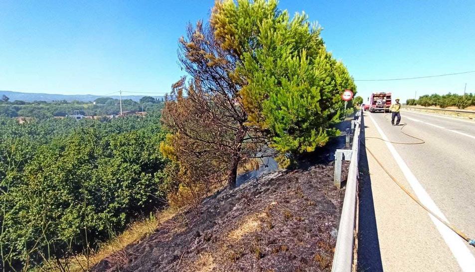 L'incendi de canyes
