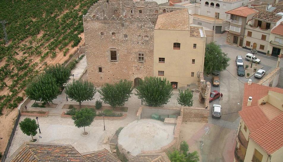 Vista del Castell de Rodonyà.