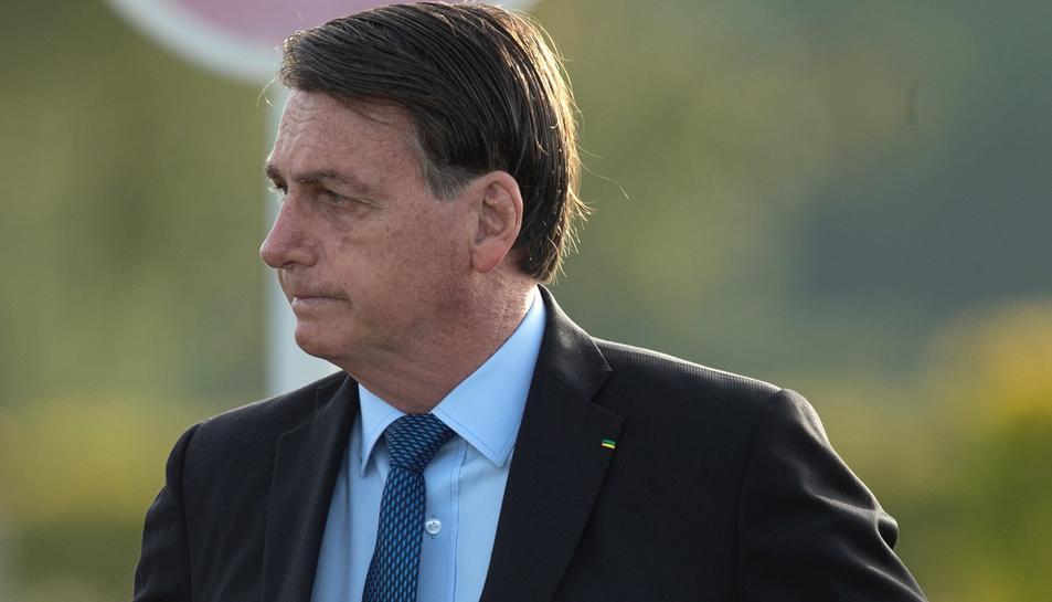 Imatge d'arxiu de Bolsonaro.