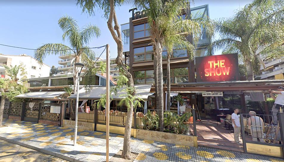 Imatge de la discoteca i el restaurant Tropical de Salou.