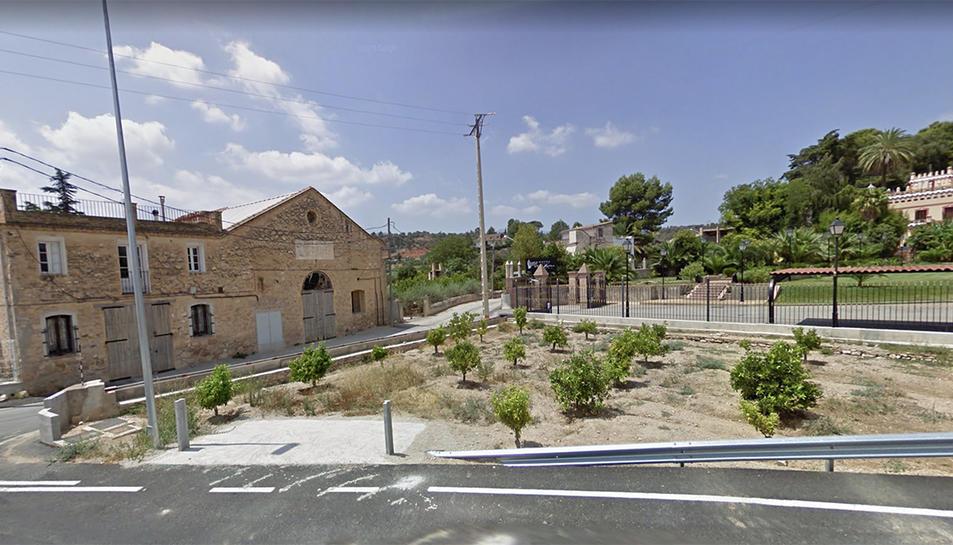 El brot afecta al municipi de Xerta.