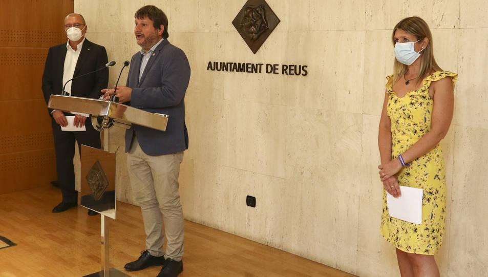 Pellicer, Subirats i Llauradó van anunciar ahir el projecte.