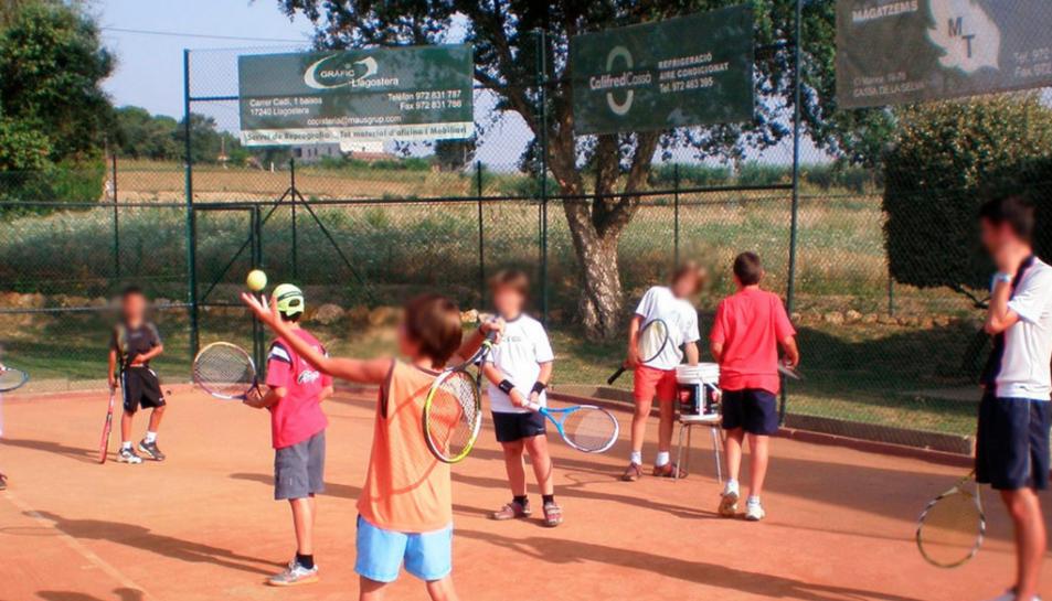 Un usuari del casal del Club Tennis Cassà ha donat positiu.