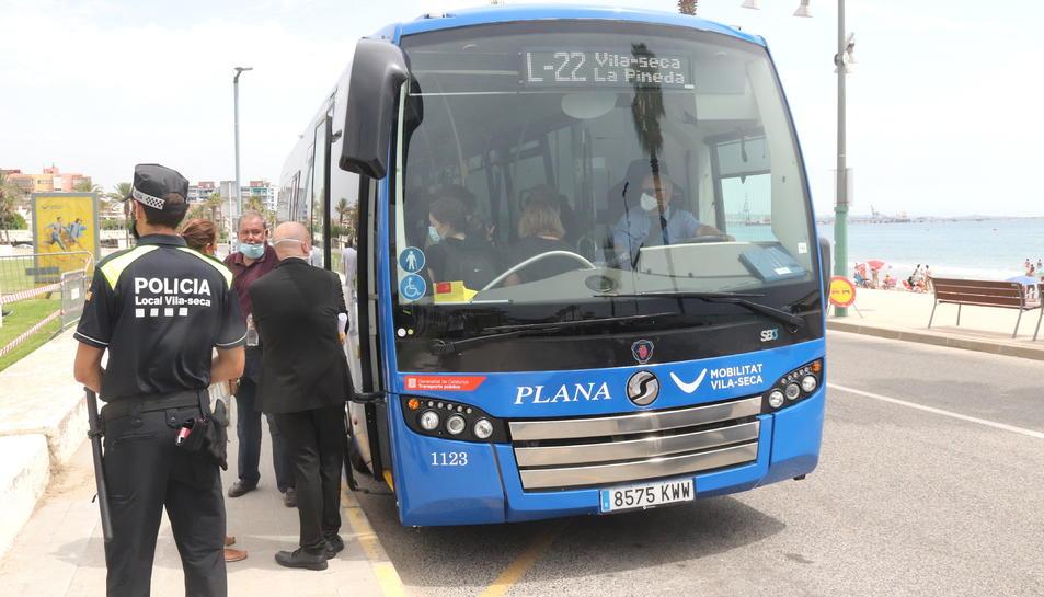 Pla general del nou bus urbà de Vila-seca.