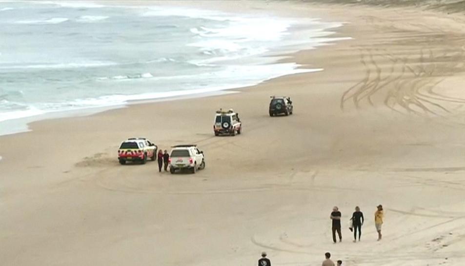 La presència de taurons ha obligat a tancar les platges de la zona.
