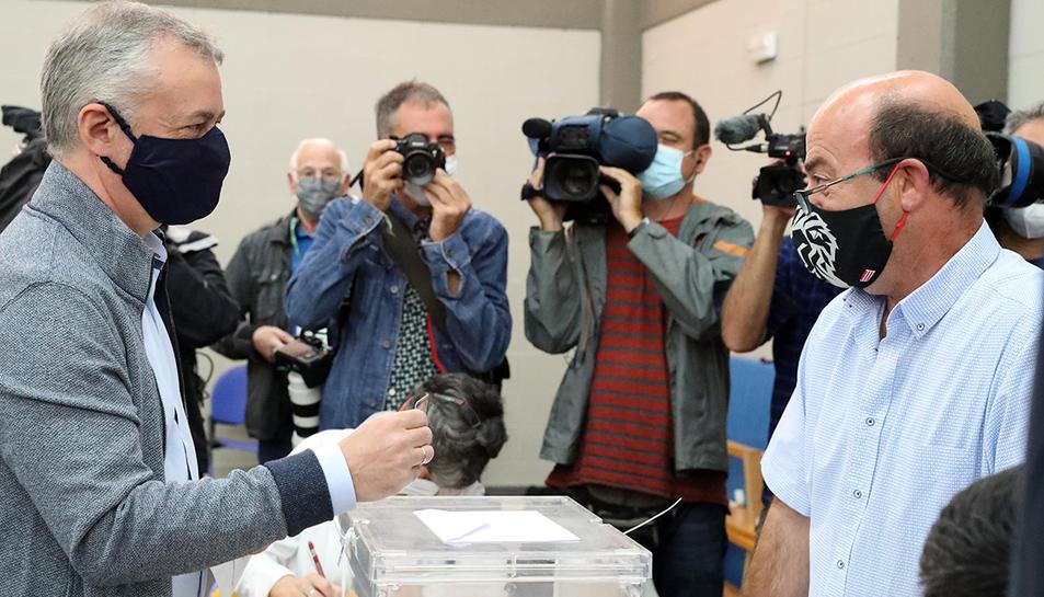El lehendakari i candidat del PNB,