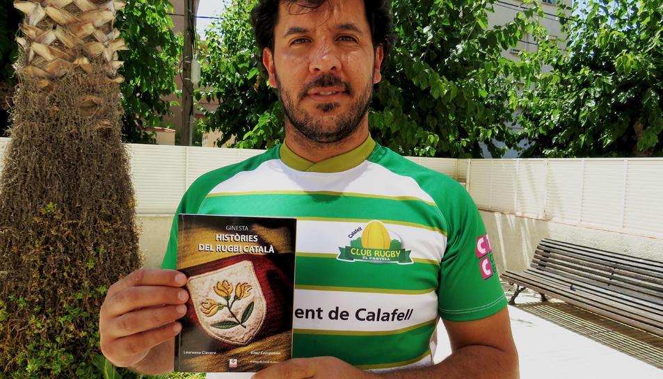 Laureano Clavero és un gran aficionat al rugbi, un esport que practica des que tenia cinc anys.
