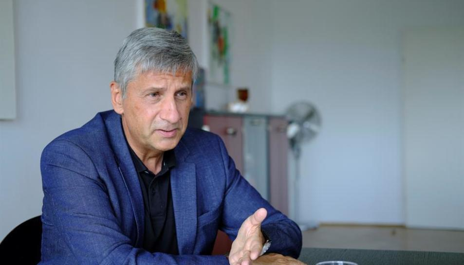 El director general del Centro Internacional para el Desarrollo de Política Migratoria (ICMPD), Michael Spindelegger.