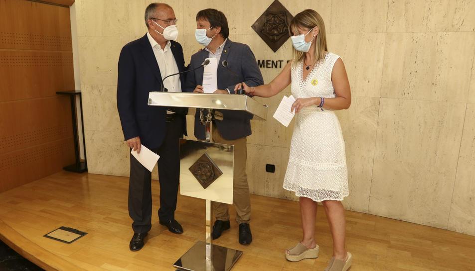 Pellicer, Subirats i Llauradó han anunciat el calendari.