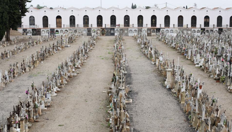 Imatge d'arxiu del Cementiri de Reus.