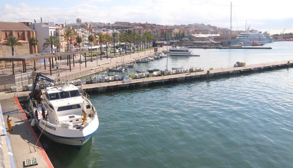 Pla general del barri del Serrallo de Tarragona.