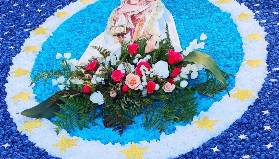 El Serrallo celebra una festa del Carme atípica.