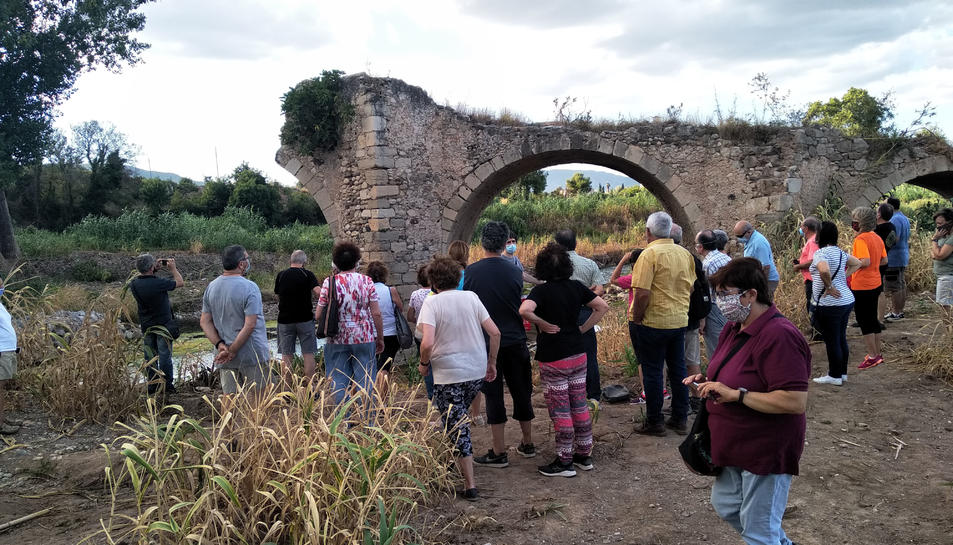 Imatge de la visita.