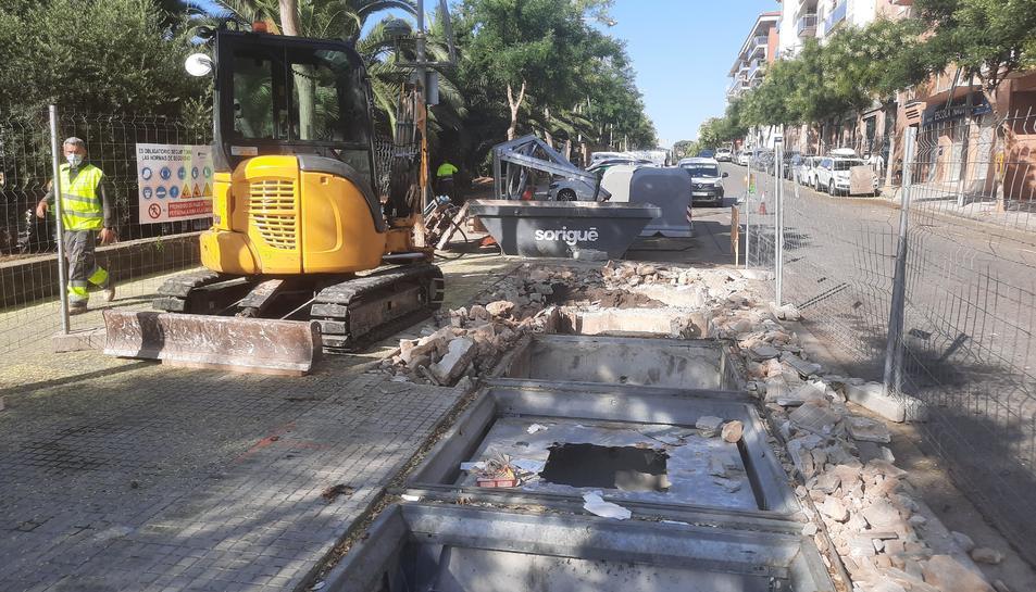 El projecte ha començat per la zona de Llevant i té una duració de tres mesos.