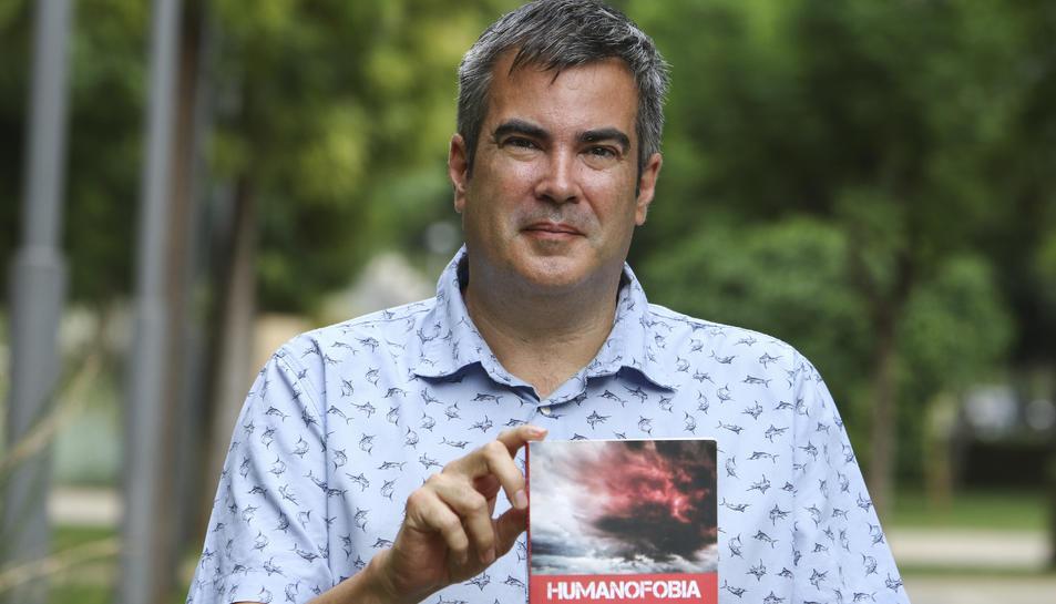 L'escriptor reusenc Joel Santamaría aquest dimecres a Tarragona.