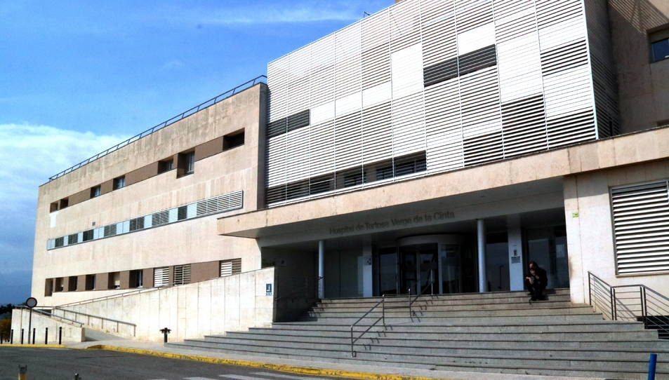 Pla general de l'Hospital Verge de la Cinta de Tortosa.