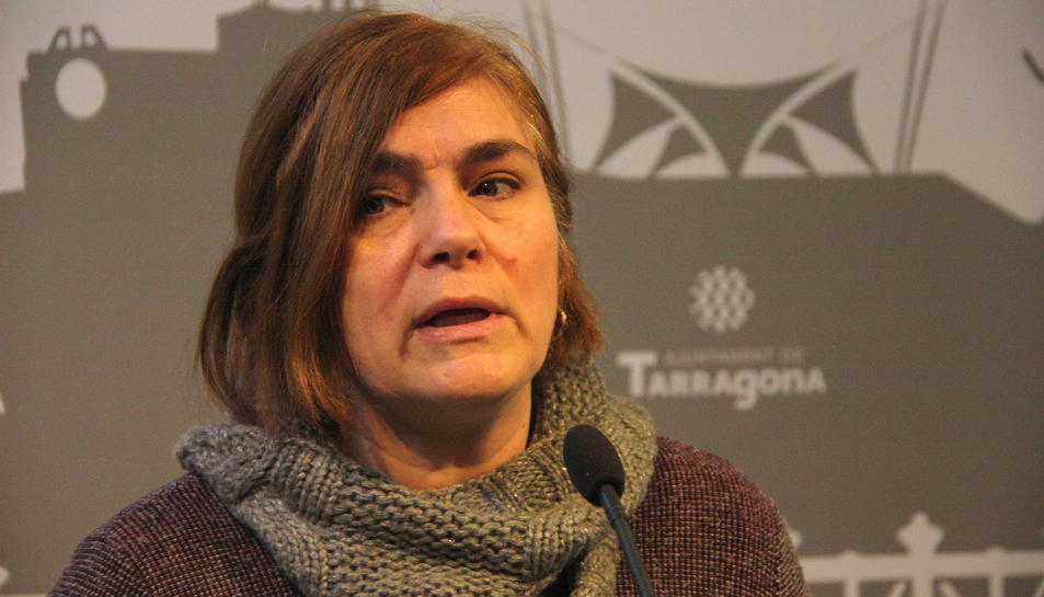 Imatge d'arxiu de la regidora d'ERC Paula Varas, qui ha de ser la responsable de Domini Públic.