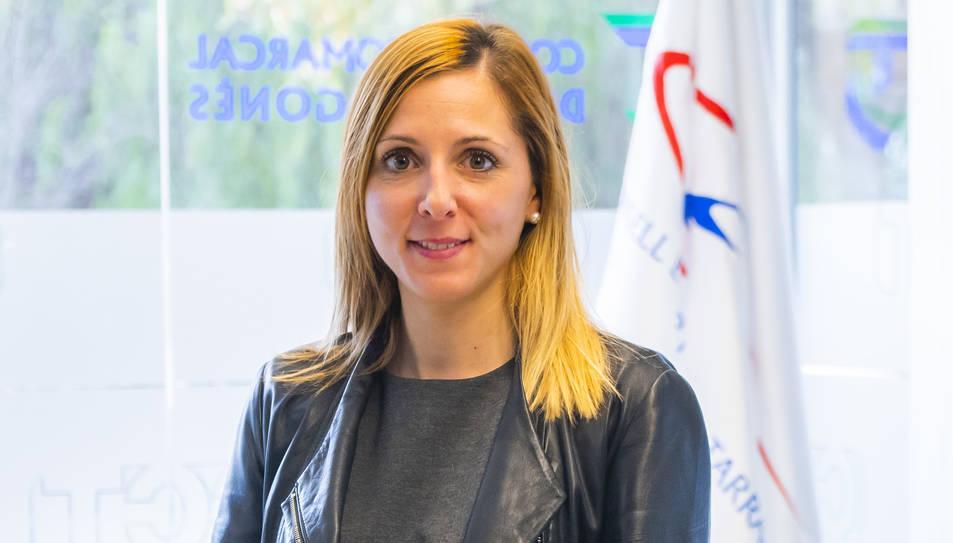 Imatge d'arxiu de la presidenta del Consell Esportiu del Tarragonès Estefania Serrano.