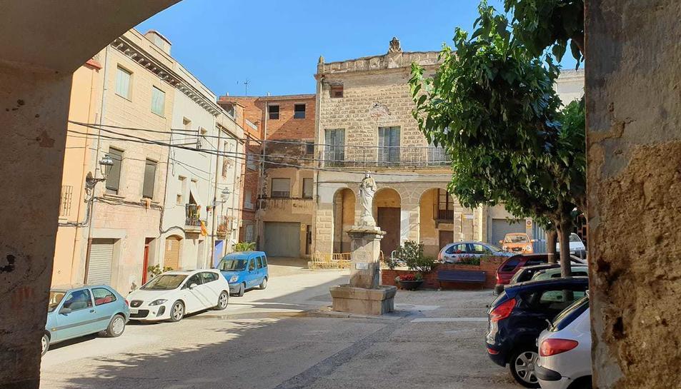 Imatge d'un dels carrers d'Alforja.