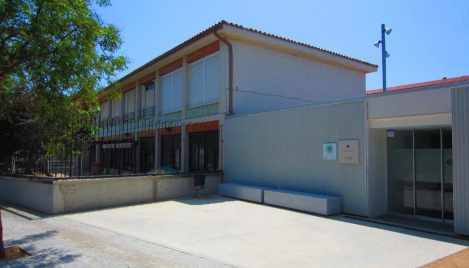 L'exterior de la llar d'infants municipal, en una imatge d'arxiu.